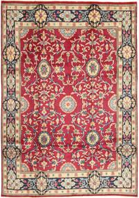 Kerman Matto 208X296 Itämainen Käsinsolmittu Punainen/Tummanharmaa (Villa, Persia/Iran)