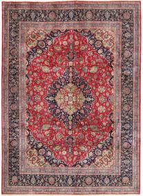 Kashmar Matto 242X335 Itämainen Käsinsolmittu Vaaleanharmaa/Tummanpunainen (Villa, Persia/Iran)