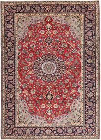 Najafabad Matto 248X338 Itämainen Käsinsolmittu Tummanpunainen/Tummanvioletti (Villa, Persia/Iran)