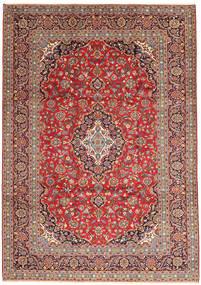 Keshan Matto 247X351 Itämainen Käsinsolmittu Tummanpunainen/Ruoste (Villa, Persia/Iran)