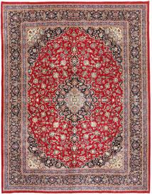 Mashad Patina Matto 295X375 Itämainen Käsinsolmittu Tummanruskea/Ruskea Isot (Villa, Persia/Iran)