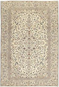 Keshan Patina Matto 229X333 Itämainen Käsinsolmittu Vaaleanharmaa/Tummanbeige (Villa, Persia/Iran)