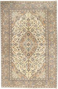 Keshan Patina Matto 190X296 Itämainen Käsinsolmittu Vaaleanharmaa/Tummanbeige (Villa, Persia/Iran)