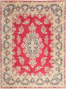 Kerman Matto 292X400 Itämainen Käsinsolmittu Ruoste/Tummanbeige Isot (Villa, Persia/Iran)