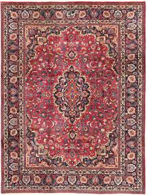 Mashad Matto 240X324 Itämainen Käsinsolmittu Tummanpunainen/Tummanruskea (Villa, Persia/Iran)