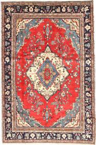 Hamadan Matto 202X302 Itämainen Käsinsolmittu Vaaleanruskea/Beige (Villa, Persia/Iran)