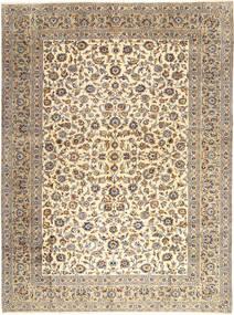 Keshan Matto 303X407 Itämainen Käsinsolmittu Vaaleanharmaa/Beige Isot (Villa, Persia/Iran)