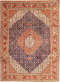 Tabriz Matto 258X345 Itämainen Käsinsolmittu Tummanpunainen Isot (Villa, Persia/Iran)