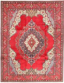 Tabriz Matto 255X334 Itämainen Käsinsolmittu Punainen/Beige Isot (Villa, Persia/Iran)