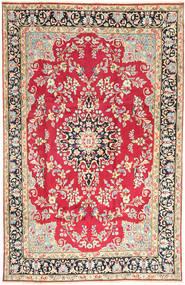 Kerman Matto 198X310 Itämainen Käsinsolmittu Ruoste/Beige (Villa, Persia/Iran)