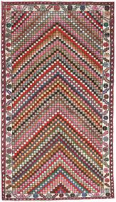 Hamadan Patina Matto 107X200 Itämainen Käsinsolmittu Tummanharmaa/Tummanpunainen (Villa, Persia/Iran)