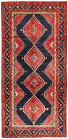 Koliai Matto 151X310 Itämainen Käsinsolmittu Käytävämatto Tummanpunainen/Tummansininen (Villa, Persia/Iran)