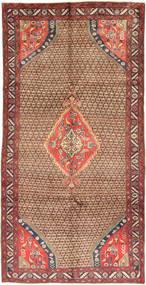 Koliai Matto 150X295 Itämainen Käsinsolmittu Käytävämatto Tummanpunainen/Ruskea (Villa, Persia/Iran)