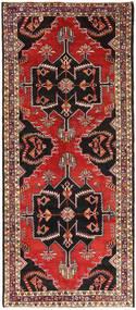 Klardasht Matto 136X316 Itämainen Käsinsolmittu Käytävämatto Tummanpunainen/Musta (Villa, Persia/Iran)