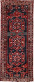 Klardasht Matto 154X386 Itämainen Käsinsolmittu Käytävämatto Tummanpunainen/Musta (Villa, Persia/Iran)