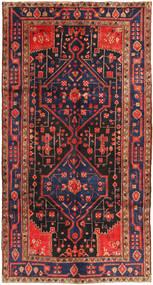 Koliai Matto 156X293 Itämainen Käsinsolmittu Käytävämatto Tummanpunainen/Tummanharmaa (Villa, Persia/Iran)