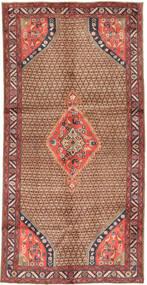 Koliai Matto 148X291 Itämainen Käsinsolmittu Käytävämatto Tummanpunainen/Ruskea (Villa, Persia/Iran)