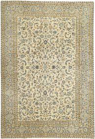 Keshan Patina Matto 290X380 Itämainen Käsinsolmittu Vaaleanruskea/Beige Isot (Villa, Persia/Iran)