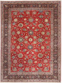 Keshan Patina Matto 288X380 Itämainen Käsinsolmittu Tummanpunainen/Ruoste Isot (Villa, Persia/Iran)