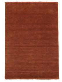 Handloom Fringes - Deep Rust Matto 140X200 Moderni Ruoste/Punainen/Tummanpunainen (Villa, Intia)