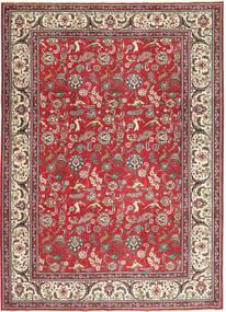 Tabriz Patina Matto 248X344 Itämainen Käsinsolmittu Tummanpunainen/Beige (Villa, Persia/Iran)