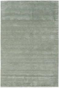 Handloom Fringes - Soft Teal Matto 300X400 Moderni Vaaleanvihreä/Tummanharmaa Isot (Villa, Intia)