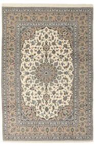 Keshan Sherkat Farsh Matto 205X300 Itämainen Käsinsolmittu Vaaleanharmaa/Beige/Tummanbeige (Villa, Persia/Iran)