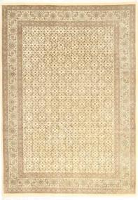 Tabriz 50 Raj Matto 204X284 Itämainen Käsinsolmittu Beige/Keltainen (Villa, Persia/Iran)