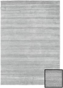 Bamboo Grass - Harmaa Matto 160X230 Moderni Vaaleanharmaa (Villa/Bambu Silkki, Turkki)