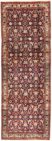 Hamadan Matto 102X280 Itämainen Käsinsolmittu Käytävämatto Tummanpunainen/Tummanruskea (Villa, Persia/Iran)