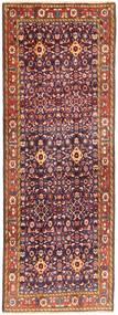 Hamadan Matto 107X300 Itämainen Käsinsolmittu Käytävämatto Tummanpunainen/Tummanvioletti (Villa, Persia/Iran)