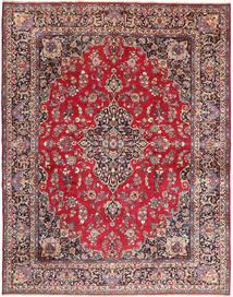 Mashad Matto 293X380 Itämainen Käsinsolmittu Tummanruskea/Punainen Isot (Villa, Persia/Iran)