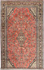 Hamadan Matto 313X532 Itämainen Käsinsolmittu Tummanpunainen/Vaaleanruskea Isot (Villa, Persia/Iran)