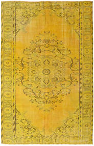 Colored Vintage Matto 172X269 Moderni Käsinsolmittu Keltainen (Villa, Turkki)
