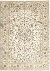 Keshan Matto 248X346 Itämainen Käsinsolmittu Vaaleanharmaa/Beige/Tummanbeige (Villa, Persia/Iran)
