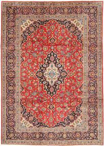 Keshan Matto 252X348 Itämainen Käsinsolmittu Tummanpunainen/Ruoste Isot (Villa, Persia/Iran)