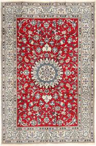 Nain Matto 196X297 Itämainen Käsinsolmittu Vaaleanharmaa/Ruskea (Villa, Persia/Iran)