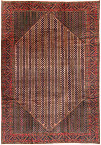 Koliai Matto 200X288 Itämainen Käsinsolmittu Ruskea/Tummanpunainen (Villa, Persia/Iran)