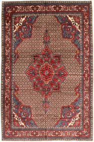 Koliai Matto 205X300 Itämainen Käsinsolmittu Tummanpunainen/Tummanruskea (Villa, Persia/Iran)