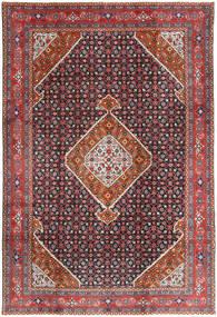 Ardebil Matto 197X293 Itämainen Käsinsolmittu Tummanpunainen/Tummansininen (Villa, Persia/Iran)
