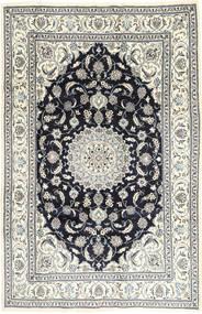 Nain Matto 201X314 Itämainen Käsinsolmittu Vaaleanharmaa/Tummanharmaa (Villa, Persia/Iran)