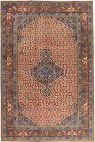 Ardebil Matto 197X293 Itämainen Käsinsolmittu Tummanpunainen/Punainen (Villa, Persia/Iran)