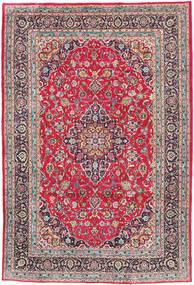 Kashmar Matto 197X300 Itämainen Käsinsolmittu Vaaleanharmaa/Tummanruskea (Villa, Persia/Iran)