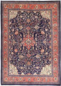 Mahal Matto 241X345 Itämainen Käsinsolmittu Tummanvioletti/Pinkki (Villa, Persia/Iran)