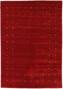 Loribaf Loom Delta - Punainen Matto 160X230 Moderni Tummanpunainen/Ruoste (Villa, Intia)