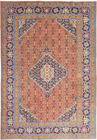 Ardebil Matto 200X297 Itämainen Käsinsolmittu Tummanharmaa/Tummanpunainen (Villa, Persia/Iran)