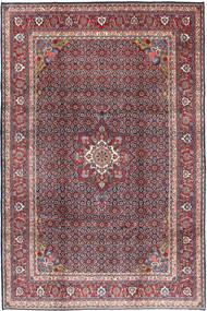 Moud Matto 215X320 Itämainen Käsinsolmittu Vaaleanharmaa/Tummanpunainen (Villa, Persia/Iran)