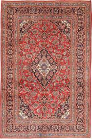 Keshan Matto 191X290 Itämainen Käsinsolmittu Tummanpunainen/Vaaleanruskea (Villa, Persia/Iran)