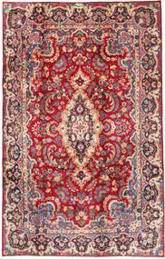 Yazd Matto 200X305 Itämainen Käsinsolmittu Punainen/Ruoste (Villa, Persia/Iran)