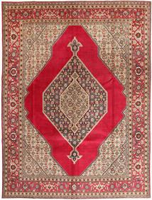 Tabriz Allekirjoitettu: Abaghi Matto 290X380 Itämainen Käsinsolmittu Tummanpunainen/Punainen Isot (Villa, Persia/Iran)